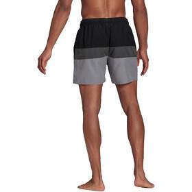 adidas Block CLX Short Length Shorts Men, negro/gris